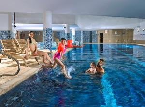 The swimming pool at or near Clayton Hotel Cardiff Lane