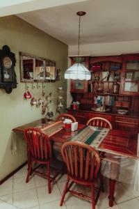 Um restaurante ou outro lugar para comer em Pousada Colinas da Lagoa