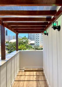 A balcony or terrace at Hotel Porto Salvador