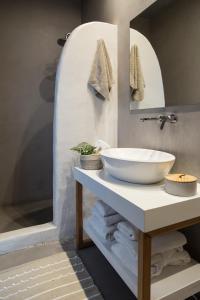 Salle de bains dans l'établissement Impressive One