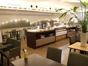A restaurant or other place to eat at Nagoya Creston Hotel