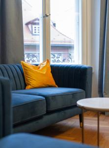 A seating area at Le Baldinger Boutique Hotel