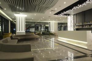 The lobby or reception area at KAILA BEACH HOTEL All Inclusive