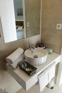 Een badkamer bij Rosa Naútica