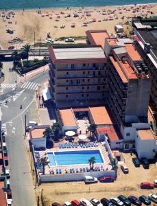 Een luchtfoto van Rosa Naútica