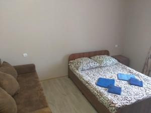 Кровать или кровати в номере База отдыха Тавуш