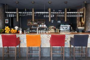O lounge ou bar de Scandic Wroclaw