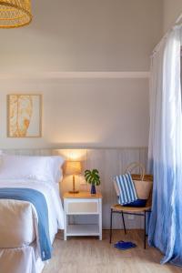 Hotel Aretêにあるベッド