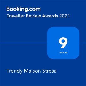 Certificato, attestato, insegna o altro documento esposto da Trendy Maison Stresa