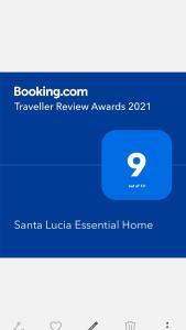 Planimetria di Santa Lucia Essential Home