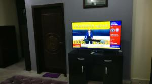 A television and/or entertainment center at The Gramophone Abuja