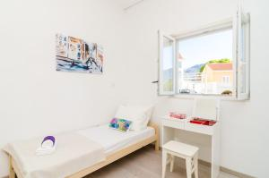 A bed or beds in a room at Apartment Amabilis