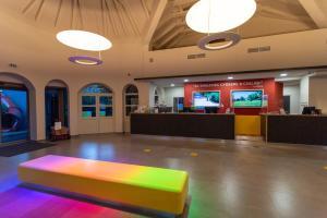 Vstupní hala nebo recepce v ubytování Kolping Hotel Spa & Family Resort