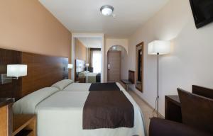 Кровать или кровати в номере Rincón Sol