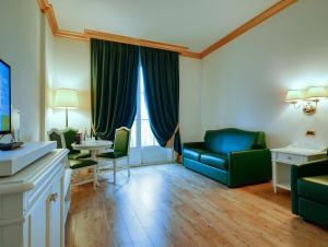 Area soggiorno di Gardaland Hotel