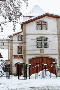 Fairy House Apartments & SPA during the winter