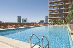 The swimming pool at or near Fairmont Dallas