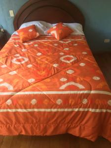 A bed or beds in a room at Casa independiente NOÉ - Independent House