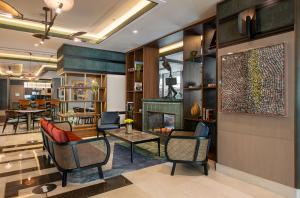 The lobby or reception area at The Artisan Istanbul MGallery