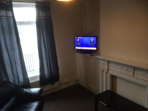 A seating area at Yarm Road Serviced House