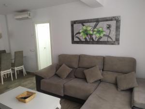 Zona de estar de Aloha Apartament Sun&Beach