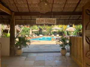 The swimming pool at or close to Controvento Boutique Hotel