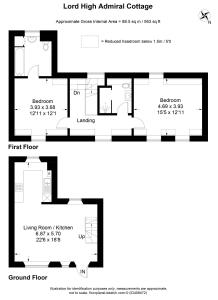The floor plan of Lord High Admiral