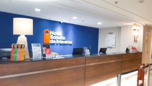 The lobby or reception area at Hotel Sonata de Iracema
