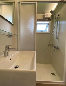 A bathroom at Young Stay