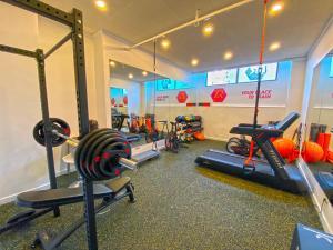 Fitnesscenter och/eller fitnessfaciliteter på Senator Marbella Spa Hotel