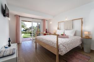 Cama o camas de una habitación en Romantik Villa