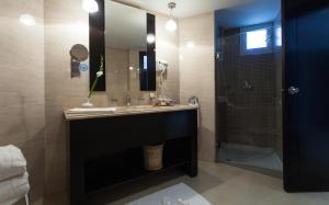 Een badkamer bij The Sindbad