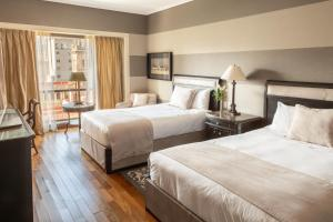 A bed or beds in a room at InterContinental Buenos Aires, an IHG Hotel