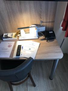 Der Geschäftsbereich oder Konferenzraum in der Unterkunft Hotel Peterchens Mondfahrt