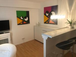 TV/Unterhaltungsangebot in der Unterkunft Business meets Düsseldorf Apartments