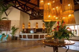 The lobby or reception area at SUN CITY ROTA DAS EMOÇÕES BY NOBILE