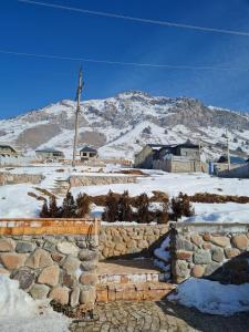 Premium Villas with panoramic view to Chimgan during the winter
