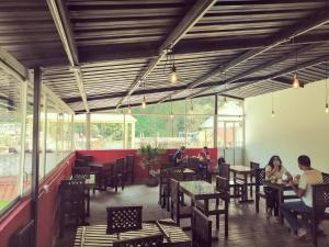 Un restaurante o sitio para comer en Hostal & Spa Casa Real