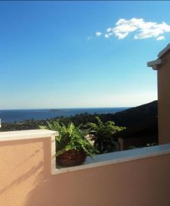 A balcony or terrace at Apartments Karoma
