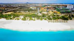 A bird's-eye view of Pearl Aruba Condos