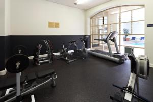 The fitness center and/or fitness facilities at Grand Hotel Melbourne