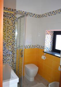 A bathroom at Villa Arechi