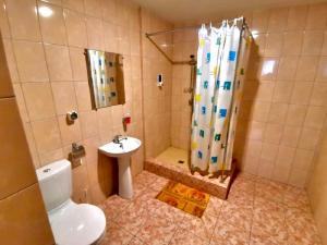 Ванная комната в Отель Норд