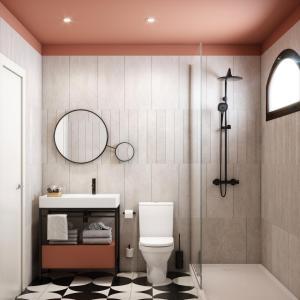Een badkamer bij HD Parque Cristobal Gran Canaria