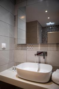 A bathroom at Aphrodite Hotel & Apartments