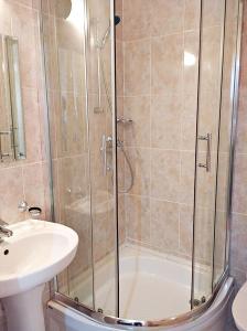 Ванная комната в Hotel Tet-a-Tet