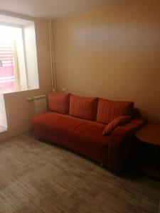 Гостиная зона в Apartment on Strel'nikova