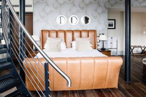 A bed or beds in a room at Hotel Du Vin Newcastle