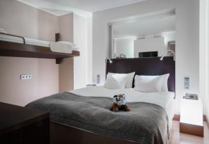Letto o letti in una camera di GLO Hotel Airport