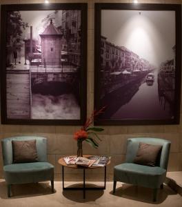 منطقة جلوس في Duomo Hotel & Apartments